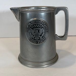 House of Representatives Pewter Pitcher